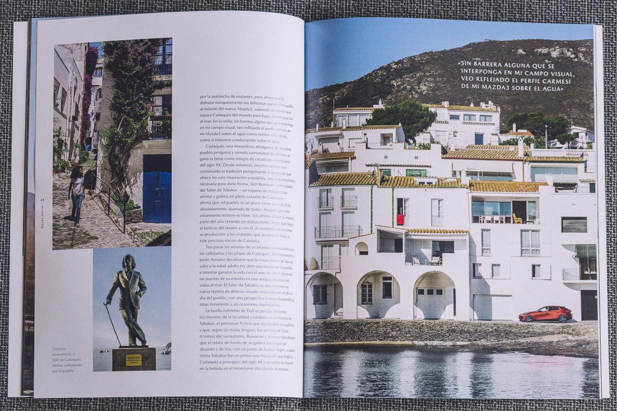 Mazda Stories - Tour of Dreams An Artistic Pilgrimage to Dali's Costa Brava